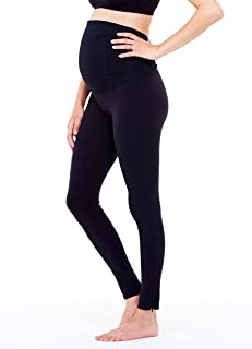 Womens Maternity Activewear – Active Legging With Crossover Panel