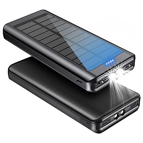 Solar Charger Power Bank 30000mAh -…