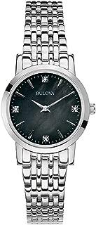 Bulova Women's Quartz Watch Metal Bracelet analog Display and Stainless Steel Strap, 96P148