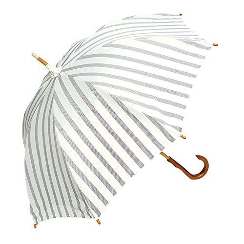 マルチボーダー かわず張り長日傘