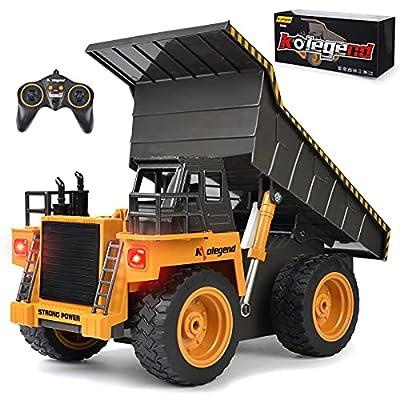 kolegend Remote Control Construction Dump Truck Construction Vehicle Toy from kolegend