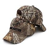 Gorra de béisbol Mike para pesca al aire libre de la selva, gorra masculina de camuflaje de caza de camuflaje