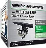 Rameder Attelage rotule démontable pour Mercedes-Benz Classe C Coupe Sport +...