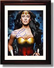 Framed Megan Fox Autograph Replica Print - Wonder Woman