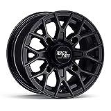 RockTrix RT104 12in ATV Wheel 4x110 Rim | 12x7 | 5+2 Offset | For ATV UTV with IRS (Independent Rear Suspension), Compatible with Bombardier Honda Kawasaki Yamaha Suzuki 4/110-1pc Single