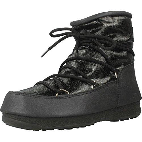 Moon Boot W.E. Low Glitter, Stivali da Neve Donna, Nero, 36 EU