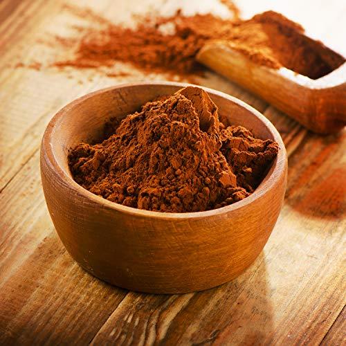 (15,49€/kg) 1000g Bio Kakao Pulver | 1 kg | 100% reines Kakaopulver (stark entölt 11% Fett) | Hohe Qualität | ohne Zusatzstoffe | intensives Aroma | kompostierbare Verpackung | DE-ÖKO-070 - STAYUNG