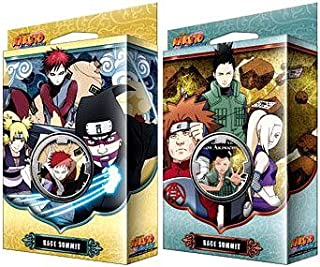 Naruto Shippuden Card Game Kage Summit Set of Both Theme Decks [Sibling's Fury & Permapower] by Naruto TCG