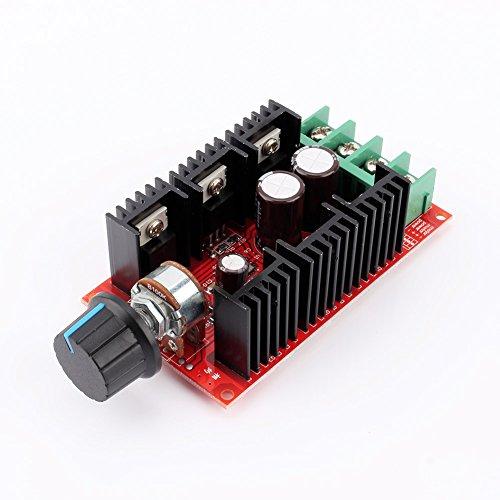 Controlador De Velocidad Del Motor Dc, Dc 10-50v 40a 12000hz Controlador De Velocidad Interruptor Controlador De Velocidad Pwm Hho Controlador Rc Regulador 12v 24v 48v 2000w