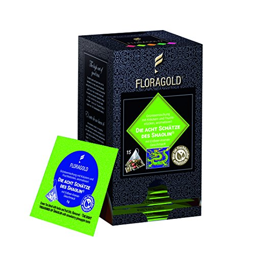 FLORAGOLD Pyramidenbeutel GT Die Acht Schätze des Shaolin, 1er Pack (1 x 45 g)