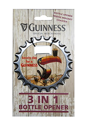 Guinness Beer Apribottiglie Magnetico 3D Classic Collection Tucano PS 08555