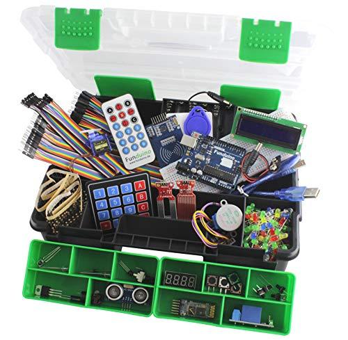 Mikrocontrolling Lernset (Arduino kompatibel) - Funduino-UNO-XXL- Lernset mit deutschsprachigen Anleitungen