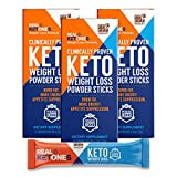 Real Ketones- Exogenous Keto D BHB + Electrolytes- Drink Mix Supplement Powder- 30 Packets - Chocolate