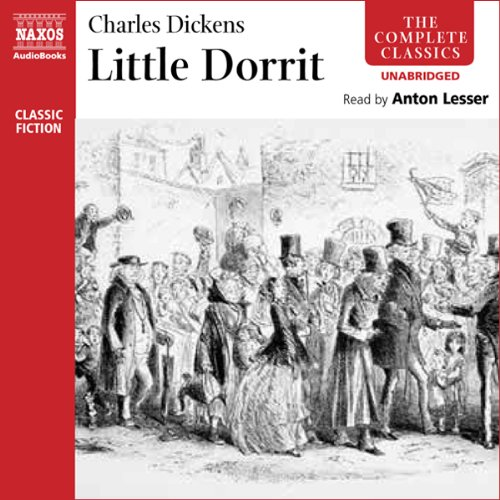 Little Dorrit audiobook cover art
