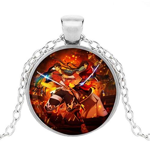 FOHKJMML Astra Lost IN Space Accesorios Collar Collar Decorativo Luz Collar de...