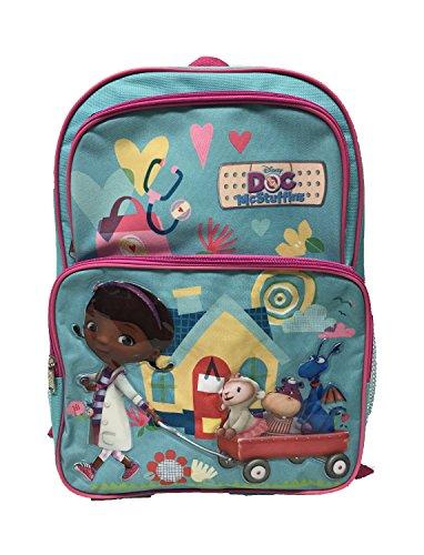 Disney Doc McStuffins Grand sac à dos d'école, sac de voyage 40,6 cm