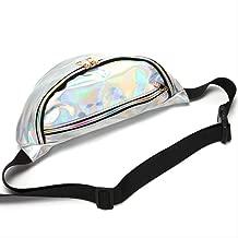 JKI-233 Verano 2019 Explosión Láser Transparente Deportes De Playa De Las Mujeres Corriendo Multi-Funcional Bolsillo Reflectante Cintura