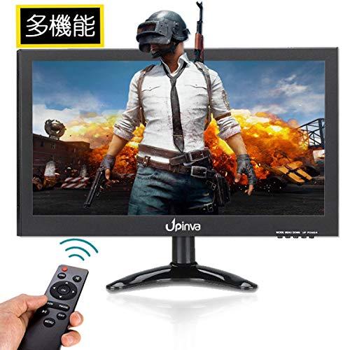 Upinva 11.6インチ 高品質モバイルモニター IPSモニタ1920x1080 液晶CCTVセキュリティモニタ PCディスプレイ のHDMI / BNC / VGA / AV / USB入力付きラズベリーパイ 日本語がある