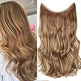 TESS Haarteil Extensions 1 Tresse Ombre Haarverlängerung Synthetische Haare Haarverdichtung