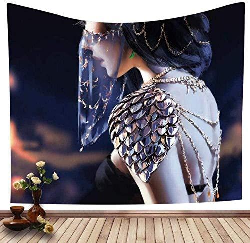 Yhjdcc Tapiz 3D Mandala Pared Arte Foto Dormitorio para Sala de Estar hogar Dormitorio decoraci¨n tapices 150cm x 200 cm