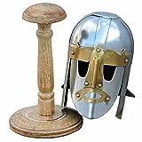 Day Zero Survival Mini Sutton Hoo Viking Helmet with Display Stand