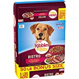 Kibbles 'N Bits Bistro Oven Roasted Beef & Vegetables Dry Dog Food Bonus Bag, 50 Lb