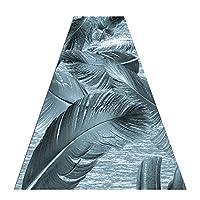 廊下用カーペット ロング 非スリップ、柔らかい現代のカーペットランナーのための敷物の敷物、柔らかい現代のカーペットのランナー、幅60/80/100/120 cm、身長6 mm(Size:60×100 cm/23.6×39.4 in)