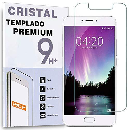 REY Protector de Pantalla para MEIZU MX6, Cristal Vidrio Templado Premium