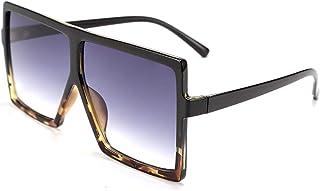 نظارة شمس نسائية مربعة كبيرة الحجم قطعة واحدة أنيقة للإناث بإطار كبير UV400 B2539 من FEISEDY