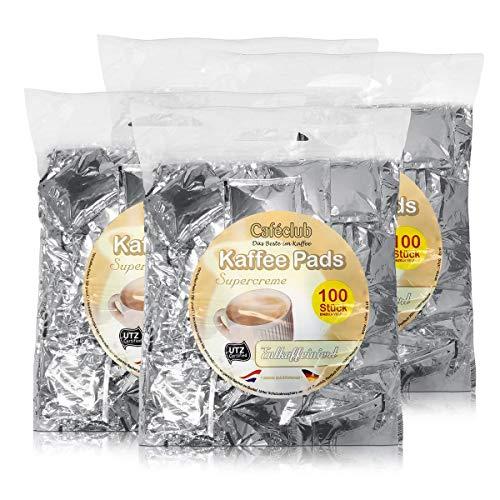 4x Cafeclub Entkoffeiniert Kaffeepads Megabeutel je 100 stk. einzeln verpackt
