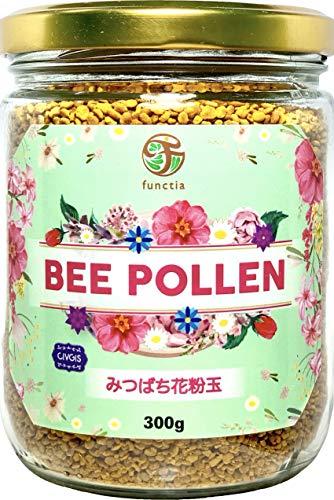 ビーポーレン(みつばち花粉玉)300g(大入りバリューパック)非加熱・非精製 functia Bee Pollen 300g Value Pack