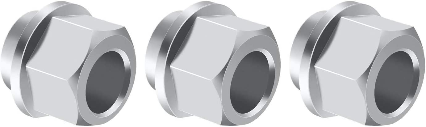 Size : 5pcs WANGYOUCAO 5//10pc 3D Printer Eccentric Spacer V Wheel Eccentric Column Isolation Screw nut V Slot Stainless Steel bore 5MM 6MM 3D Printing Accessories