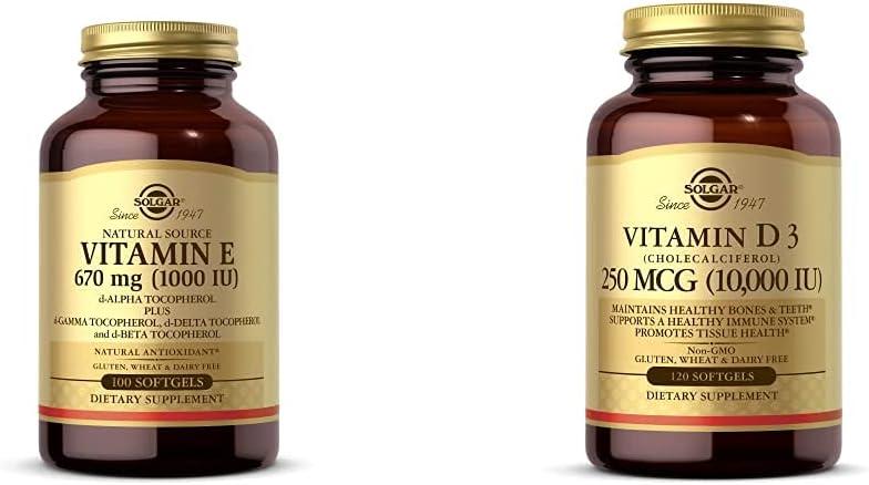 Solgar Vitamin E 670 mg 1000 Natural Mixed Softgels Recommendation Max 78% OFF 100 - IU