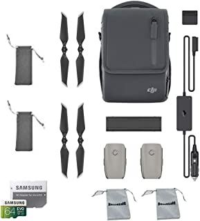 DJI Mavic 2 Fly More Kit for Mavic 2 Pro and Mavic 2 Zoom Accessories Combo Bundle with Propellers Bag, Battery Bag, SD Card