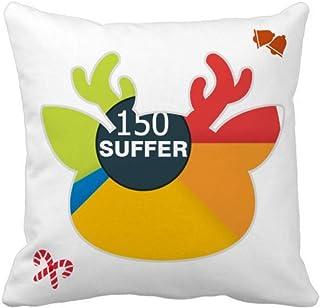 OFFbb-USA Porcentage Difficulties Encouned Life - Funda de almohada cuadrada