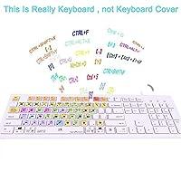 Dogxiong For Ableton Live Shortcuts Hot Keys USB Keyboard ( Work For Mac OSX PC Window Desktop Notebook Imac Macbook Cover) [並行輸入品]