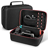 Younik Custodia per Nintendo Switch Case da Viaggio Rigido Deluxe per Console Switch, Dock Switch, Caricabatteria Originale, Cavo...