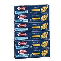 6箱セット バリラ  グルテンフリー  スパゲッティ(とうもろこし粉&米粉)340g Barilla Gluten Free Spaghetti Pasta [並行輸入品]