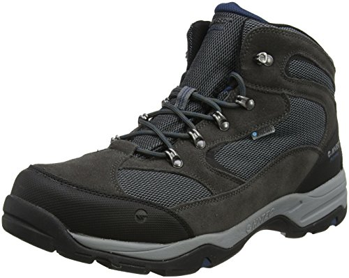 Hi-Tec Men Storm Waterproof High Rise Hiking Boots, Grey...