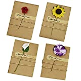 花束 メッセージカード 4種 16枚セット