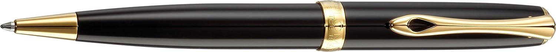 Diplomat D40203040 Excellence A2 Trim Kugelschreiber, schwarzlack Gold B0784PZ1QS   Haltbarkeit