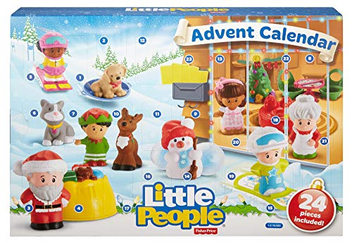 Fisher-Price Little People Advent Calendar, Count Down to Christmas with Your Toddler's Favorite Little People Friends & Fun yuletime Accessories!