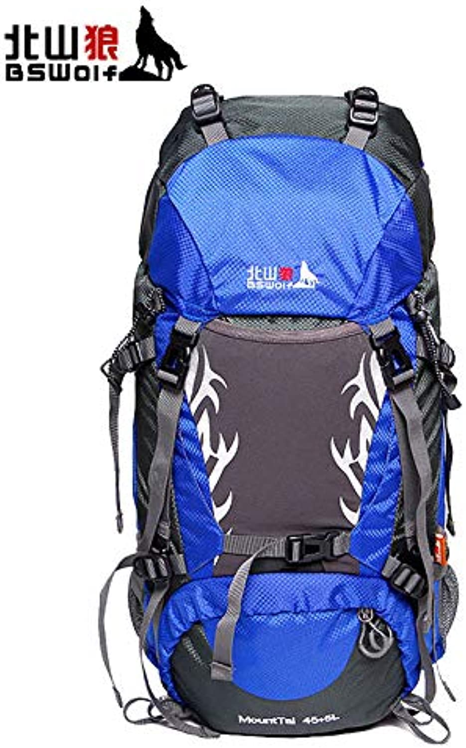 Beishan Wolf Outdoor Mountaineering Bag Large Capacity Backpack Men and Women Travel Backpack Camping 50L Pack 60L Camping Backpack