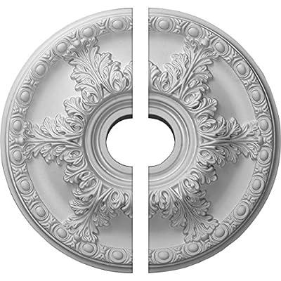 "Ekena Millwork 18""OD x 3 1/2""ID x 2 1/2""P Granada Ceiling Medallion"