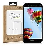 kalibri Folie kompatibel mit Huawei Honor 6C Pro - 3D Glas Handy Schutzfolie - auch für gewölbtes Bildschirm