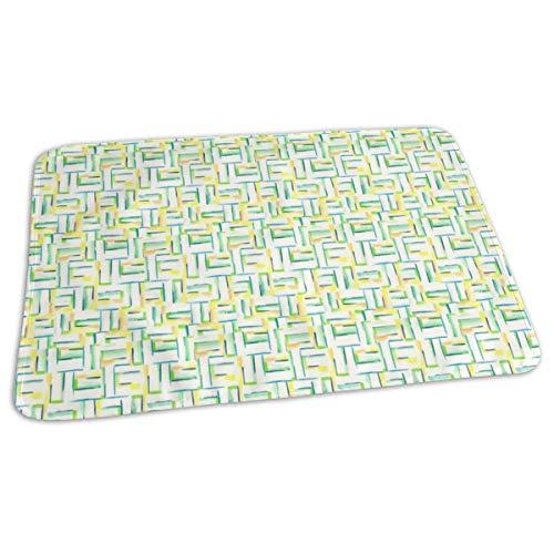 Naast de Seaside Bed Pad Wasbaar Waterdichte Urine Pads voor Baby Peuter Kinderen en Volwassenen 27.5 x19.7 inch