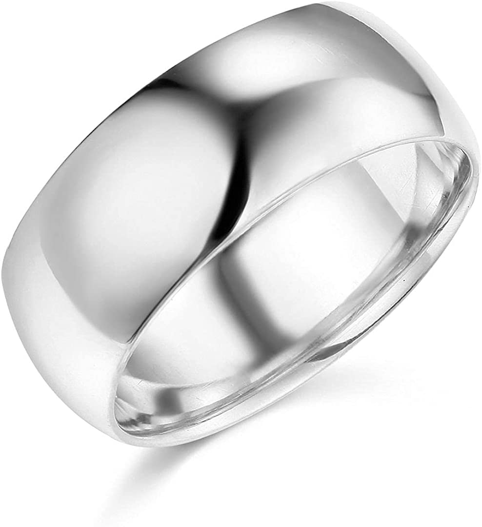 14k Yellow OR White Gold 25% OFF 8mm Plain SOLID Band Wedding Fixed price for sale