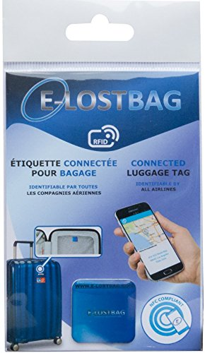 Système de puçage électronique pour Bagage- RFID/NFC – Compatible avec Toutes Les compagnies aériennes