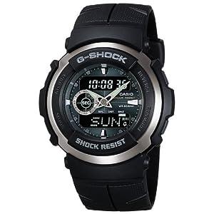 """[カシオ] 腕時計 ジーショック G-300-3AJF ブラック"""""""