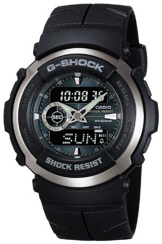 [カシオ] 腕時計 ジーショック G-300-3AJF ブラック